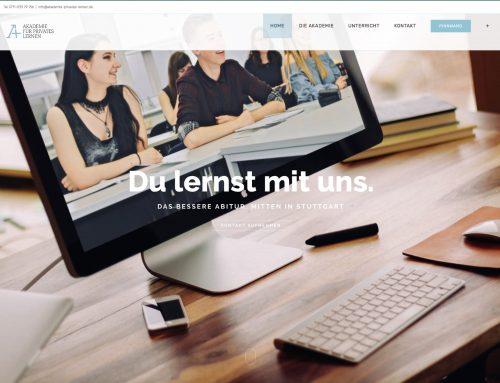 Neue Website der APL